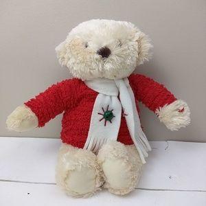 Christmas Musical Bear With Bells